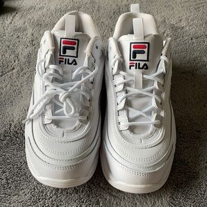 Never worn women's Fila running shoes
